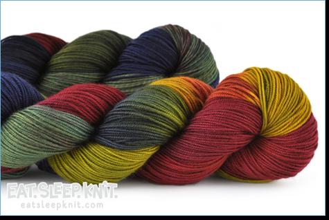 blue moon fiber arts socks that rock lightweight at eat sleep knit