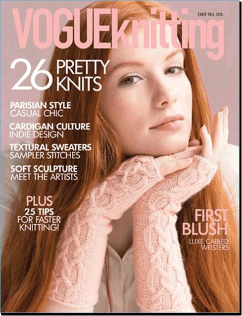 Knitting Vogue 2015 : Vogue knitting early fall at eat sleep knit
